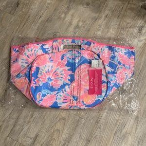New Lilly Pulitzer Bennet Blue Beverage Tote